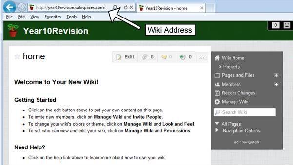 How to make a classroom wiki