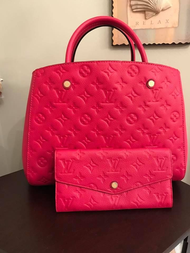Louis Vuitton Empreinte Bag Wallet Collection Owner Tammy Lyn