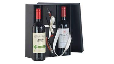 Botellas de #vino Gran Reserva 904 y Mauro con accesorios