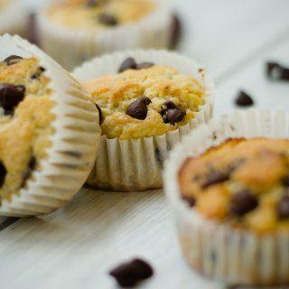 Muffins de Plátano y Chispas de Chocolate