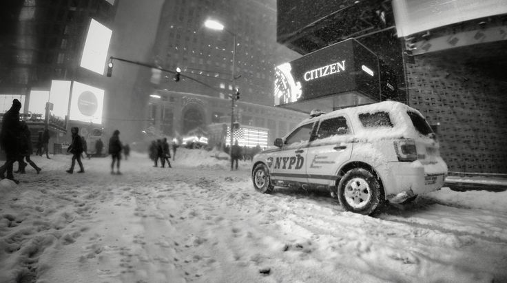 New York City during Storm Jonas, the second largest snowfall recorded in Manhattan! I was so lucky to have been there to experience it.