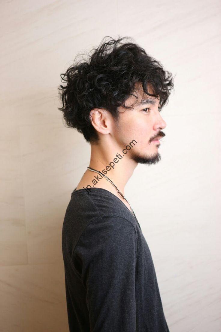 トップ位置 理想的 髪型 メンズ パーマ 髪型 ツイスト メンズ ヘア
