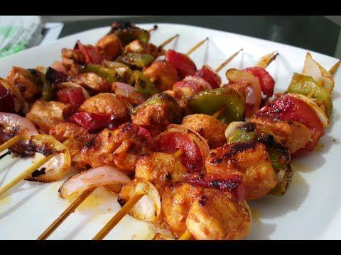 (36) Chicken Shashlik sticks orignal recipe By (Cooking Hands) - YouTube