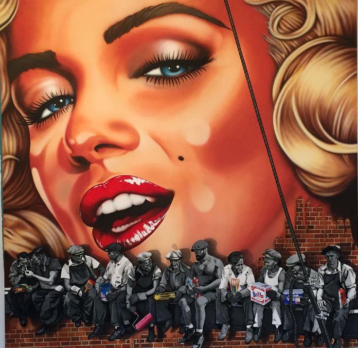 marilyn-monroe graffiti