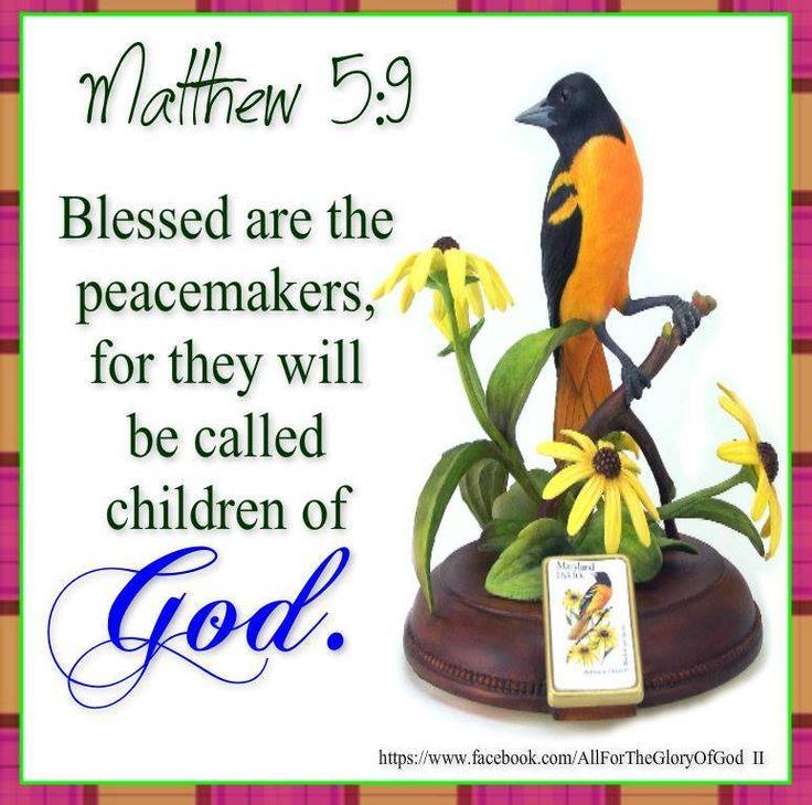 Mathew 5:9