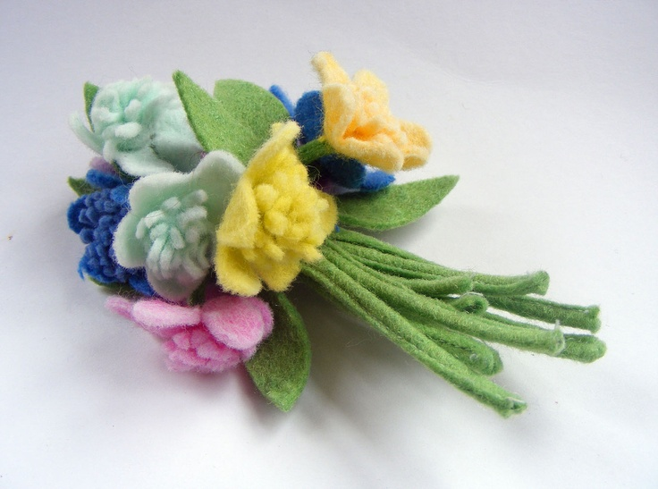 17+ best images about felt brooches on Pinterest | Vintage ...