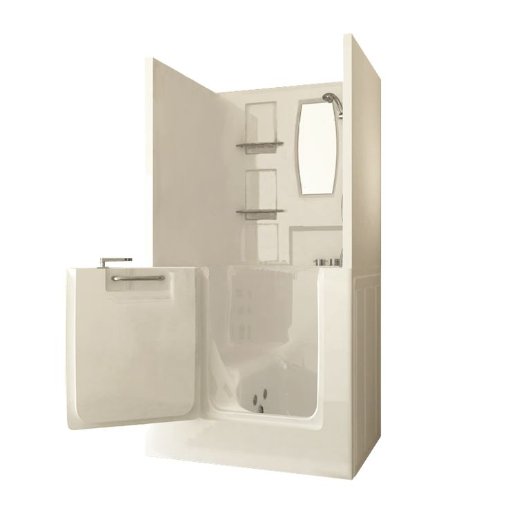 Sanctuary Small Shower Enclosure Walk-In Tub | AmeriGlide Walk In Tubs