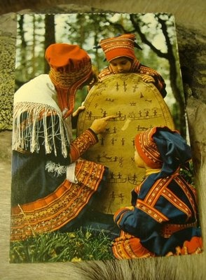 """Shaman:  The word """"Noitarumpu"""" (which is the name of the drum of the Saami #Shaman) translates to """"Witch's drum."""" It is known to many by that name, and also by the term """"Shaman's drum."""""""