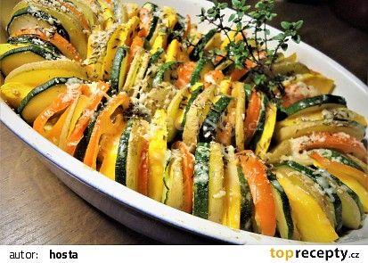 Zelenina Tian recept - TopRecepty.cz