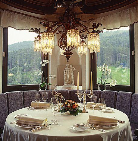 Restaurant Schwarzwaldstube. Baiersbronn, Germany. #relaischateaux #gourmet #gastronomy #restaurant #schwarzwaldstube