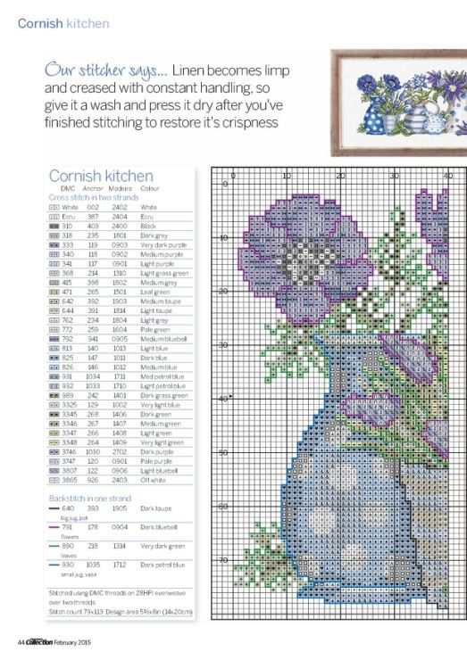 Gallery.ru / Фото #2 - Cross Stitch Collection 245 февраль 2015 - tymannost