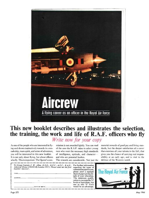 Aviation Magazine Adverts in the Swinging Sixties - Think Defence. English Electric Lightning - a rocket with a man strapped in.