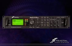 The Fractal Audio Axe-Fx II guitar amp processor. The best of the best.