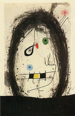 Joan Miró, noir Exilio http://www.facebook.com/BinaryExhibitions…