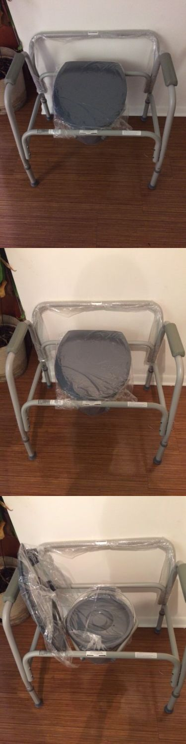 Other Accessibility Fixtures: Medical Toilet Chair Handicap Adult Safety Portable -> BUY IT NOW ONLY: $30 on eBay!