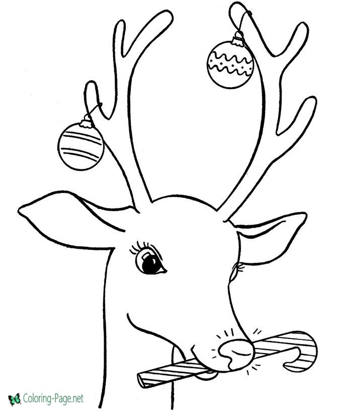 Reindeer Coloring Pages To Print Free Christmas Coloring Pages Christmas Coloring Sheets Christmas Coloring Books