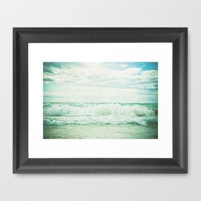 Crash Framed Art Print by Olivia Joy StClaire - $36.00