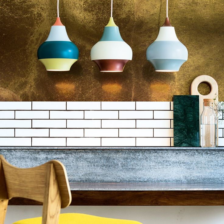 The fun and vibrant colors paired with the organic shape make for an unconventional and innovative design. http://www.ylighting.com/louis-poulsen-cirque-pendant-light.html