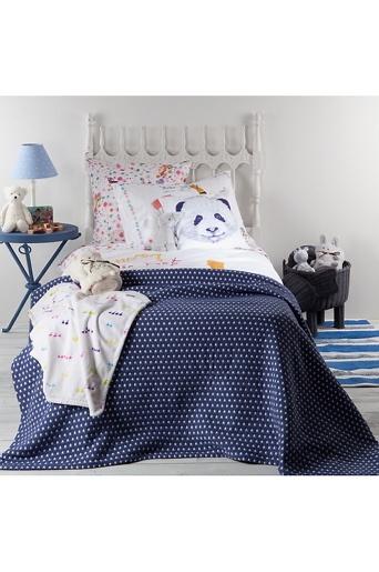 Zara Home Kids Mørk blå Zara Home, Sengeteppe Kids Park Star