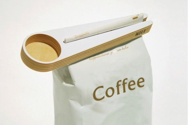 Coffee spoon and clip