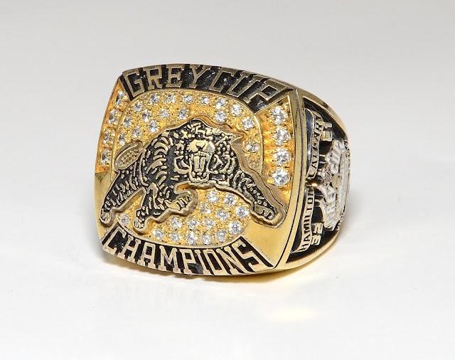 1999 Tiger-Cats Grey Cup Ring