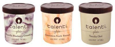 Talenti Reveals Four New Flavors Including Vanilla Chai Gelato , Cinnamon Peach Biscuit, Vanilla Blueberry Crumble Peanut Butter Fudge