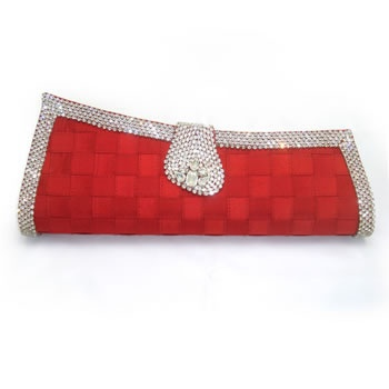 17 Best Images About Party Clutch Purses On Pinterest | Hand Bags Silver Clutch And Red Clutch