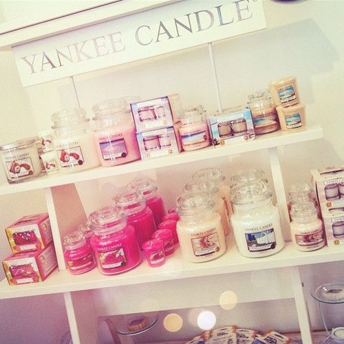 yankee candle's ♥
