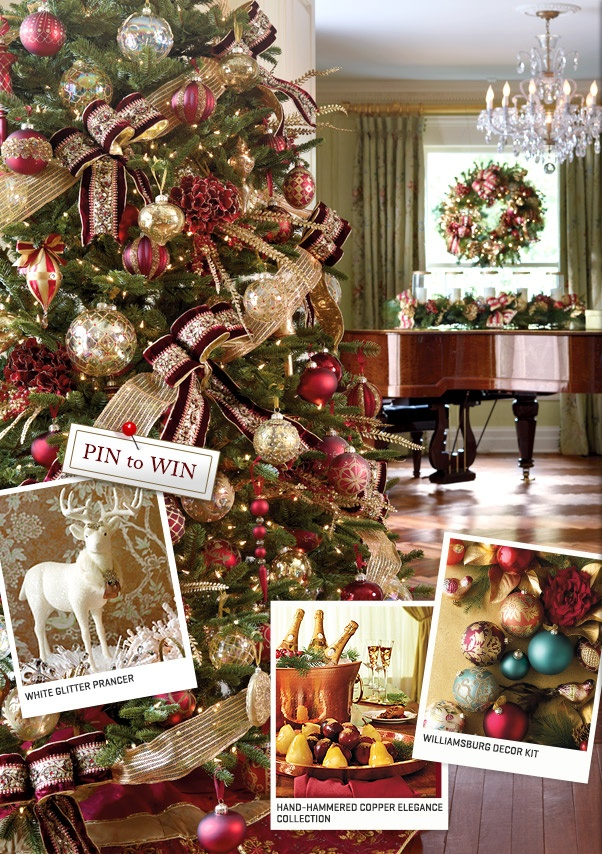 frontgate inspire holiday pinterest challenge wish i could afford to decorate every room in the