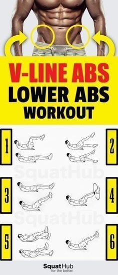 V-Line Abs Workout To Define Your Lower Abs #fitness