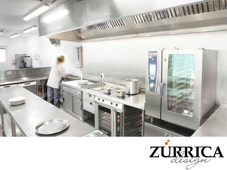 LAS MEJORES COCINAS INDUSTRIALES. Los equipos que conformarán a su cocina industrial dictarán el espacio de trabajo. En Zurrica Design le brindamos asesoría para hacer la correcta elección y distribución de todo el equipo y mobiliario para que mejore el flujo del personal al interior y ofrezca un servicio más eficiente. Si desea más información, le invitamos a visitar nuestra página web o llámenos al (55)41225178. www.zurricadesign.com #lasmejorescocinasindustriales