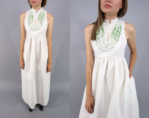 60s Joseph Magnin Mod Dress / Tuxedo jurk / 60s Maxi jurk /