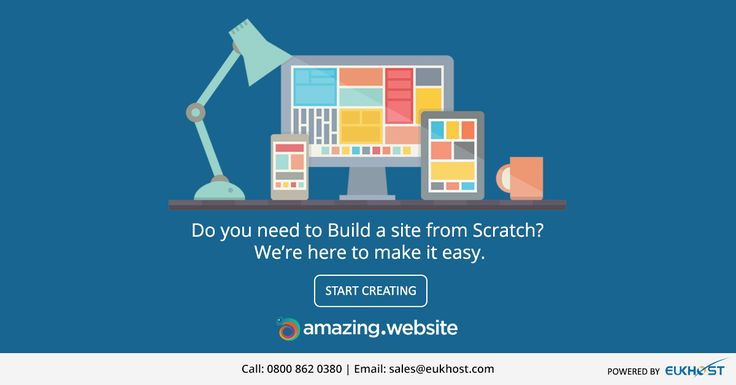 Signup FREE and start creating your website instantly -