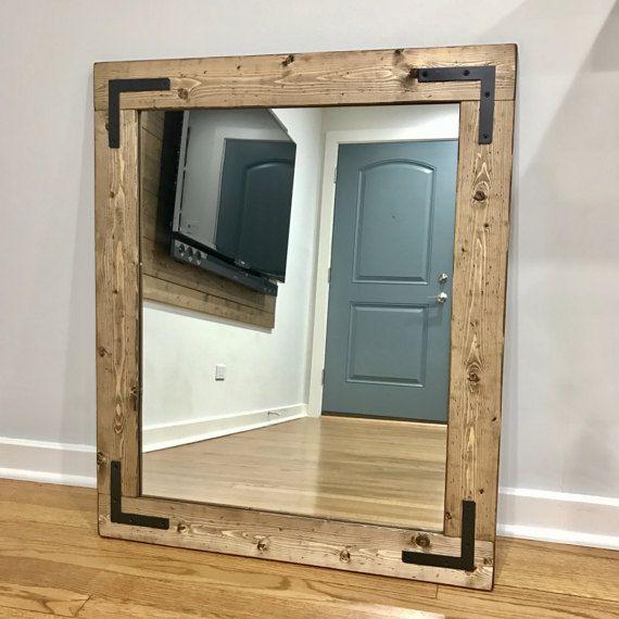 MirrorModern MirrorsDecorative Bathroom By Lulight On Etsy