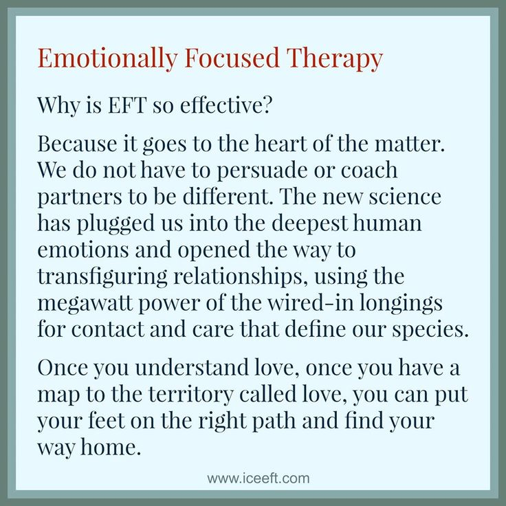 Why is #EFT so effective in helping couples find and grow their love?