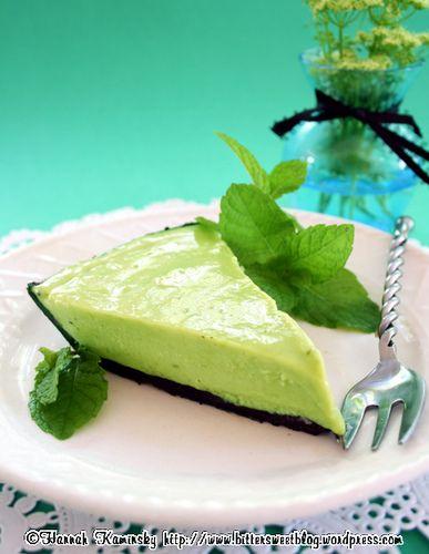 Grasshopper Pie (vegan)