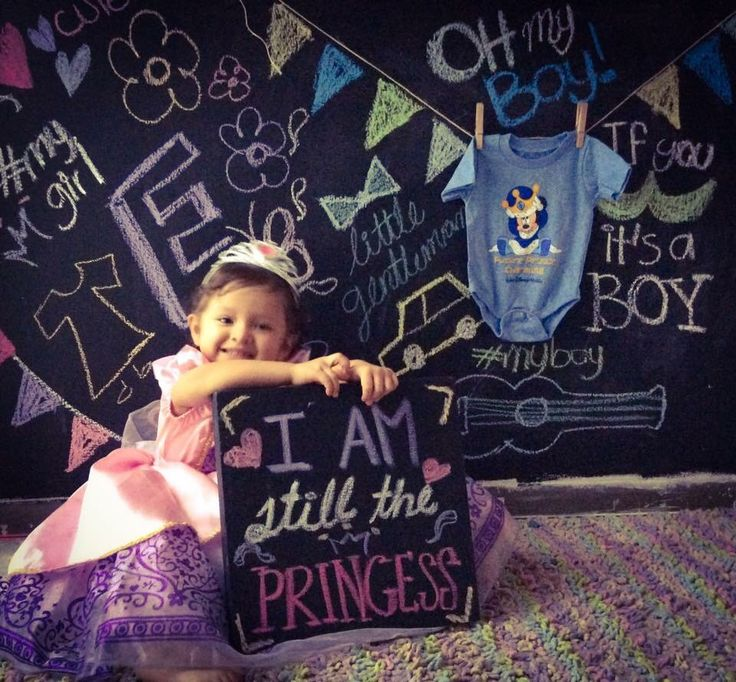 It's a boy / baby gender reveal / princess / big sister  / baby brother /baby announcement