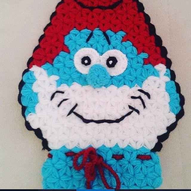 Şirin Baba Lif Örneği #knitting #lif #elisi #örgü #hobiler #çeyiz #ceyiz #orgu