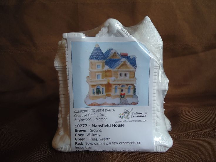Creative crafts plaster houses