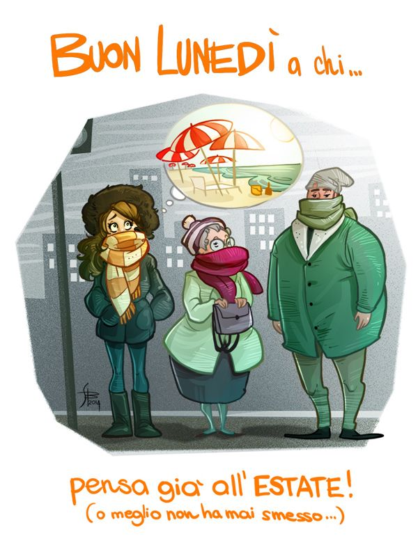 Illustrations for boring monday mornings   2014 on Behance