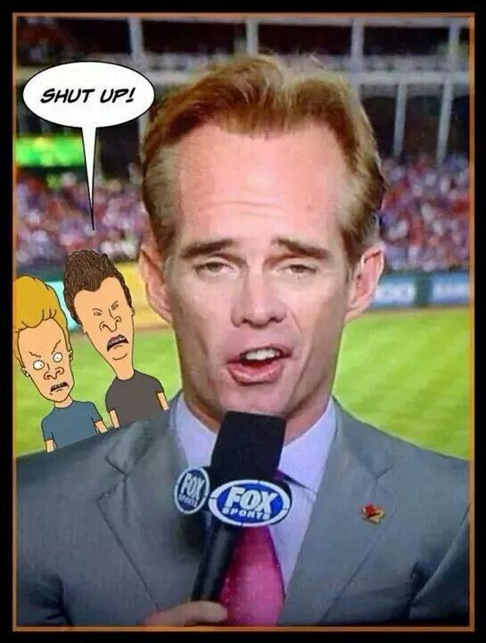 Joe Buck. ..yuck