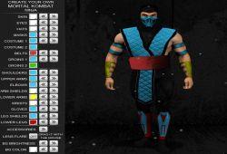 Ahora podrás crear skins de Mortal Kombat con el creador de personajes ninja. Es muy sencillo de  crear un personaje de Mortal Kombat con el editor de personajes, solo tienes que cliquear con el ratón del PC en los apartados del juego y podrás diseñar el color que desees entre una gran cantidad de colores diferentes. Podrás equiparlo de nuevas armas y de nuevos complementos inspirado en todas las versiones de Mortal Kombat.