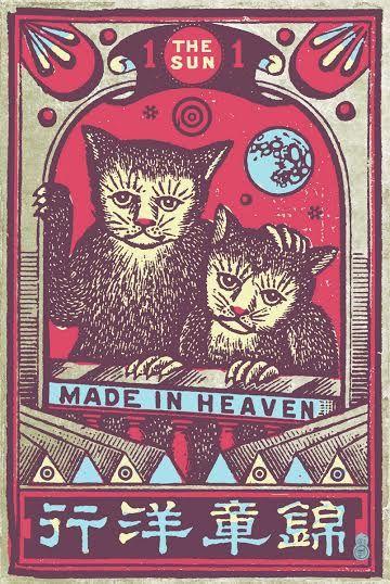 """Made in Heaven"" #print #artforwalls #homedecor #decorforhome"