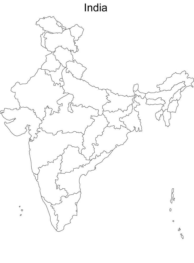 map of india without names blank political map of india without states and cities names pertaining to 892 x 1209 education green in 2019 pinterest