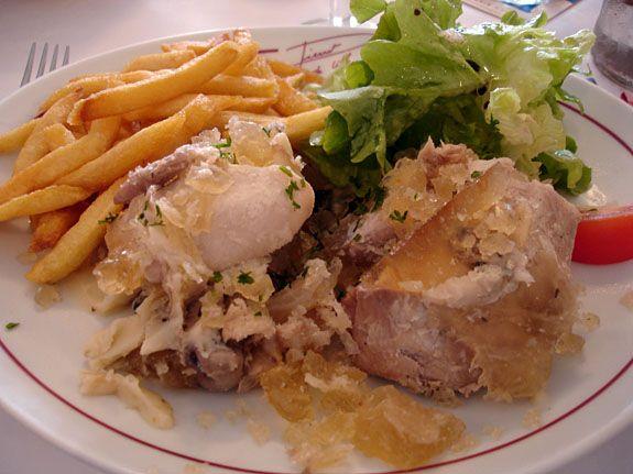 """Miam !  Le Potjevleesch (qui signifie """"Viandes au pot"""")"""
