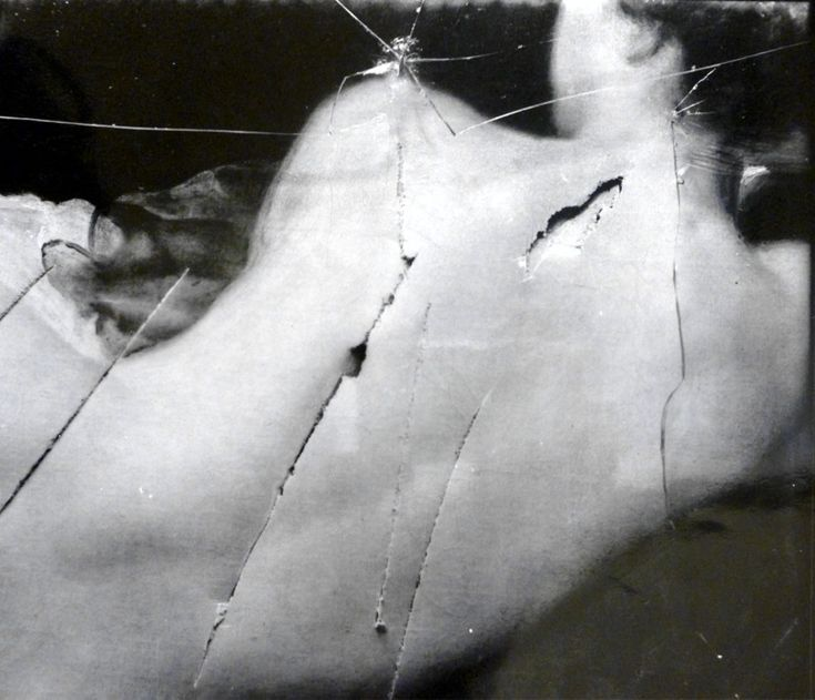 The Rokeby Venus slashed by Mary Richardson.