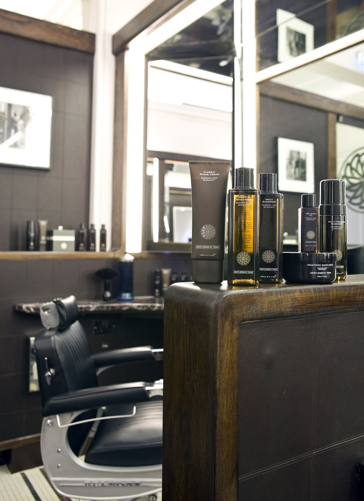Barber Station Booth - Gieves and Hawkes, London