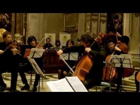 Felix Mendelssohn Bartholdy, Lied ohne worte op. 10  Recorded live in San Giovanni dei Fiorentini, in 2012. Cello: Valeriano Taddeo.  Transcription for cello and string orchestra by Cristiano Serino