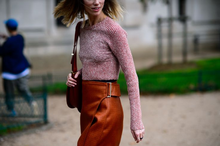 The street style scene at Paris Fashion Week ended on a high note. See 47 of the best outfits on wmag.com.