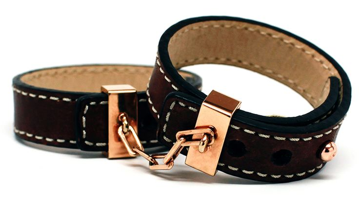 Leather Handcuffs | AHAlife